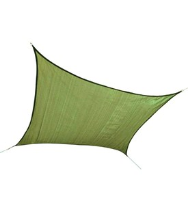 ShelterLogic 12 x 12 Outdoor Square Sun Shade Sail Image