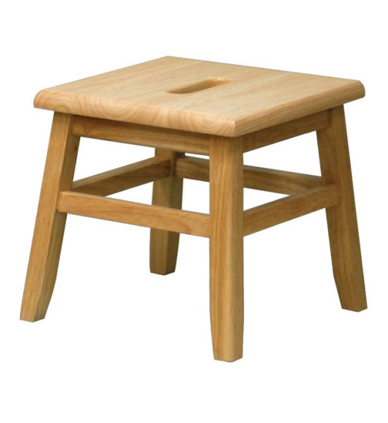 Wooden Step Stool - Natural Image  sc 1 st  Organize-It & Wooden Step Stool - Natural in Step Stools islam-shia.org