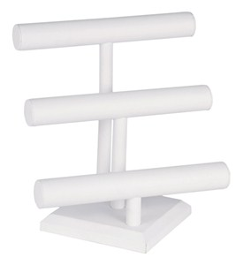 Jewelry Display Stand - Three-Tier - Leatherette Image