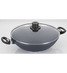 Woll Diamond Plus Non-Stick Covered Wok Image