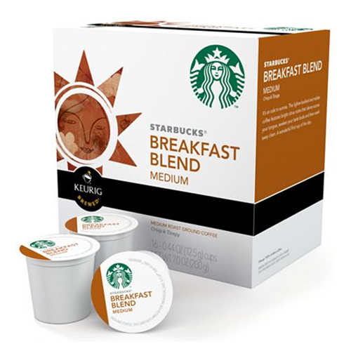 Starbucks K-Cups - Breakfast Blend (Set of 16) Image