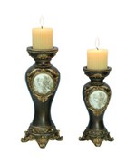 Decorative Candle Holder - Bronze