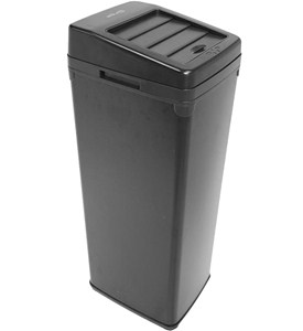 14-Gallon Square Touchless Trash Can Image
