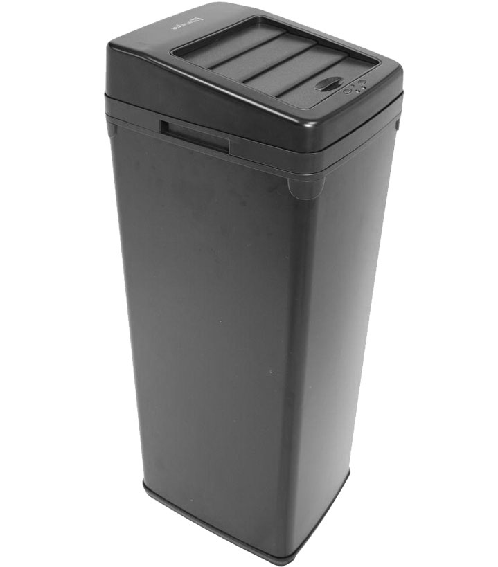 14 Gallon Square Touchless Trash Can ...