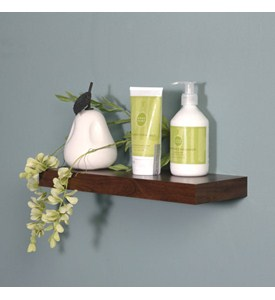14 Inch Silhouette Wood Wall Shelf Image