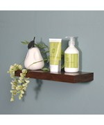 14 Inch Silhouette Wood Wall Shelf