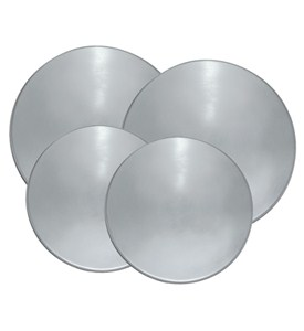 Round Burner Covers - Stainless Steel (Set of 4) Image