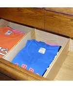 Mega Expandable Wood Dresser Drawer Dividers