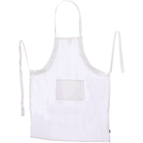 White Kitchen Apron cotton chefs apron - white in aprons and oven mitts