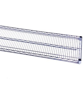 InterMetro 14 Inch Commercial Shelf - Chrome Image
