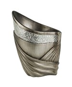 14 Inch H Silver Decorative Vase by O.R.E.