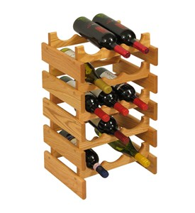 15 Bottle Wine Rack Image