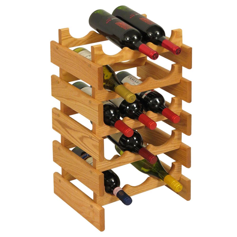 15 Bottle Wine Rack Price: $168.99