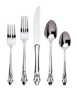 Fleur de Lis Collection Silverware Set