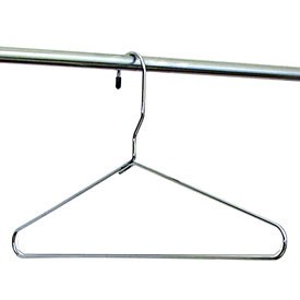 Chrome Wire Hangers - 22 Inch (Set of 6) Image