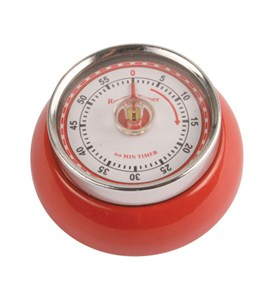Magnetic Kitchen Timer - Red Image