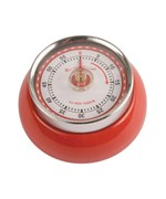 Magnetic Kitchen Timer - Red