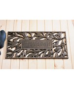 Aluminum Welcome Mat - Pinecone