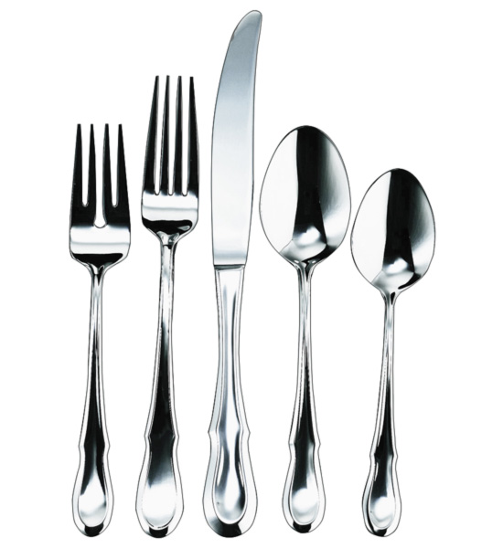 how to set a dinner table with silverware