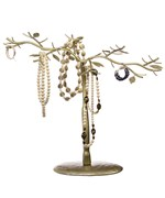 Jewelry Organizer Tree - Antique Gold