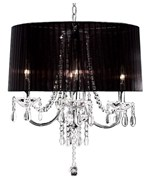 15 Inch H Crystal Drop Chandelier by O.R.E.