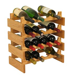 16 Bottle Wine Rack Image