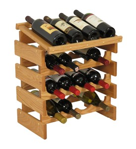 16 Bottle Wine Display Rack Image