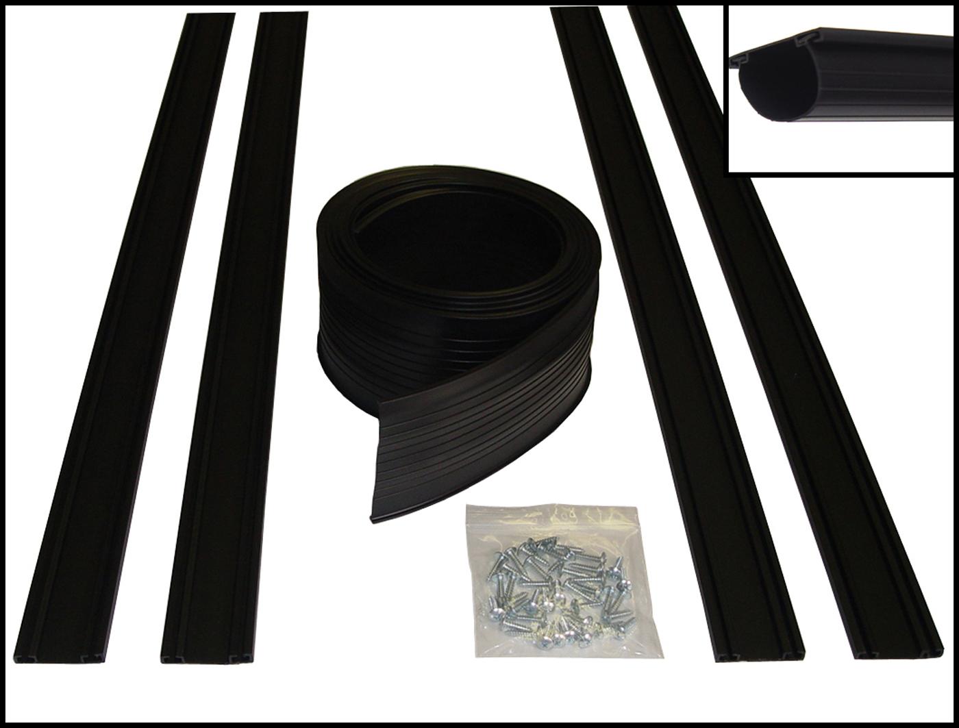 U Shaped Garage Door Bottom Seal Kit 16 Foot In Garage