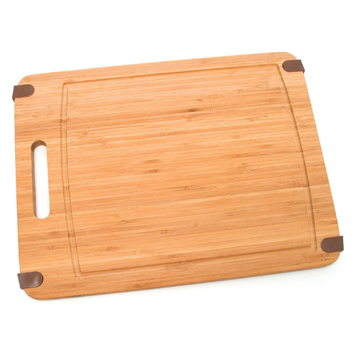 slip resistant bamboo cutting board large in cutting boards. Black Bedroom Furniture Sets. Home Design Ideas