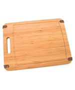 Slip Resistant Bamboo Cutting Board - Large