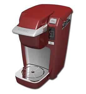 Keurig Mini Plus Coffee Brewer - Red Image