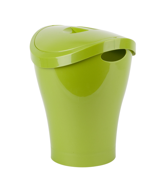 Umbra Trash Can For Bathrooms 2 5 Gallons In Small Trash