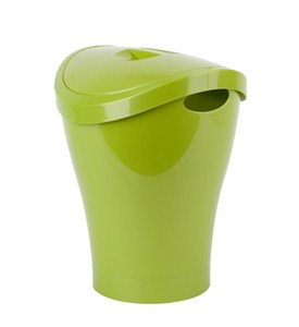 Umbra trash can for bathrooms 2 5 gallons in small trash cans - Umbra mini trash can ...