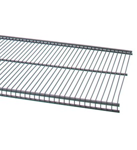 freedomRail 16 IN Profile Wire Shelving - Granite Image
