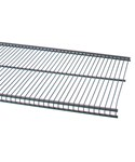 freedomRail 16 IN Profile Wire Shelving - Granite