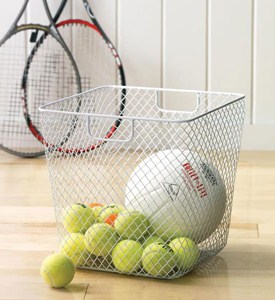Net Storage Basket - White Image