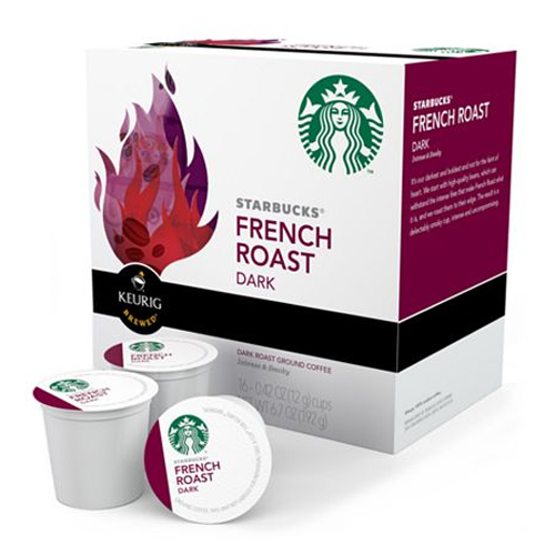 Starbucks K-Cups - French Roast (Set of 16) Image