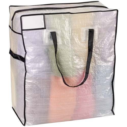 Canvas Storage Bags With Zippers Jumbo Zipper Storage Bag