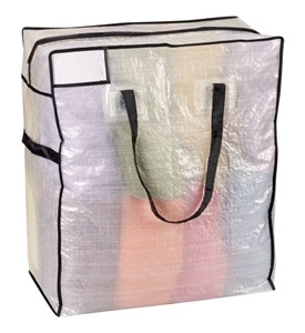 Jumbo Zipper Storage Bag Image