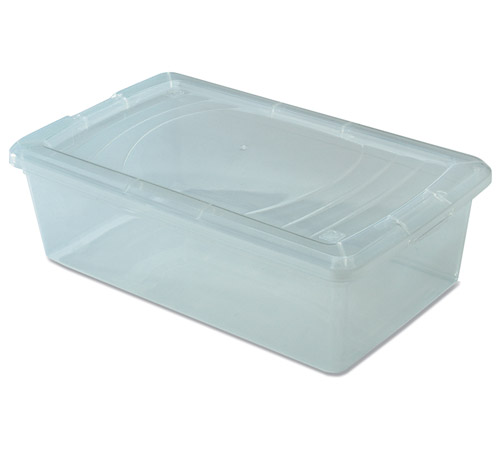 clear plastic box small shoe in plastic storage boxes. Black Bedroom Furniture Sets. Home Design Ideas