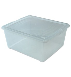 Clear Plastic Box - Medium Sweater Image
