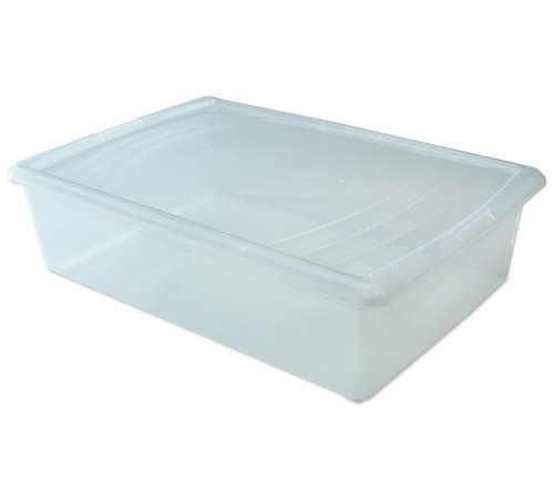 Clear Plastic Box Large Sweater Image
