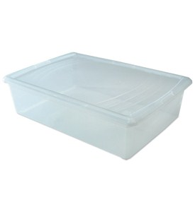 Clear Plastic Box - Large Sweater Image