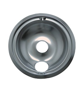 Stove Top Chrome Drip Pan - 7.75 Inch Image