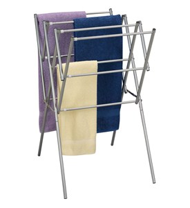 Folding Laundry Drying Rack Image