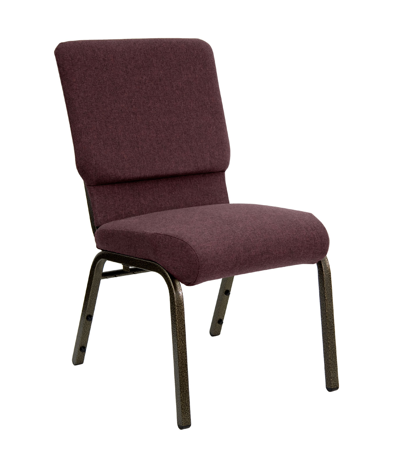 18 5 Inch Wide Stacking HERCULES Series Fabric Church Chair by