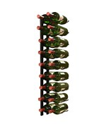 18-Bottle Double Row Wine Rack