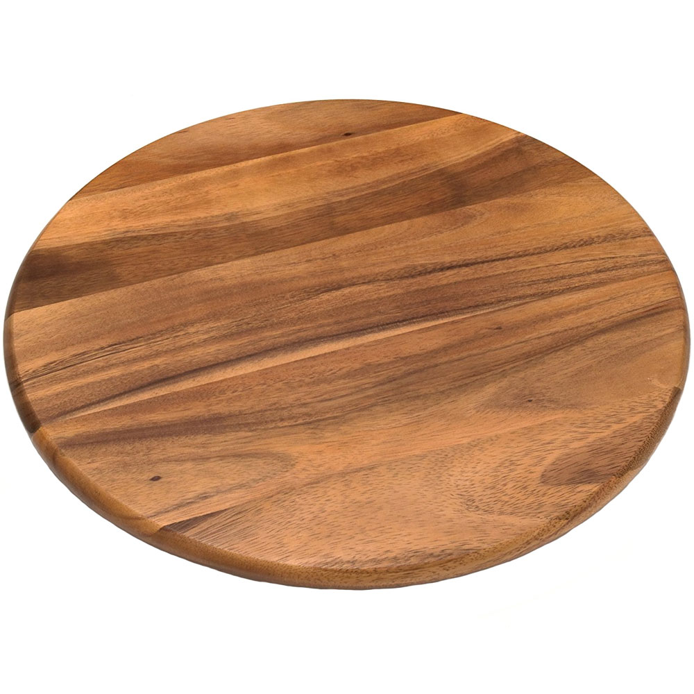 18 Inch Acacia Lazy Susan In Lazy Susan Turntables