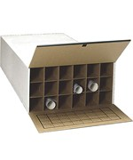 18 Section Roll File Storage Box