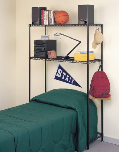 InterMetro Over Bed Storage Shelf Image